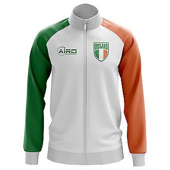 Irlanti käsite jalkapallo Track Jacket (valkoinen) - lapset