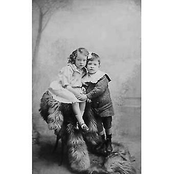 Their first true love! Greetings Card