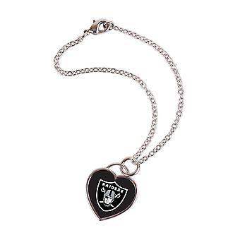Wincraft dames 3D hart armband - NFL Oakland Raiders