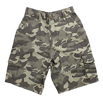 Ragazzi Tom Franks Camo Design stampa estate pantaloncini Cargo all'aperto di 100% cotone