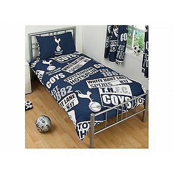 Tottenham Hotspur Patch Single Duvet And Pillow Set