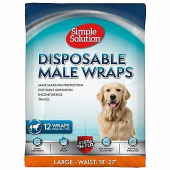 Einfache Lösung Einweg männlichen Wrap