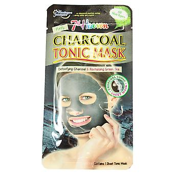 7th Heaven Charcoal Tonic Sheet Face Mask