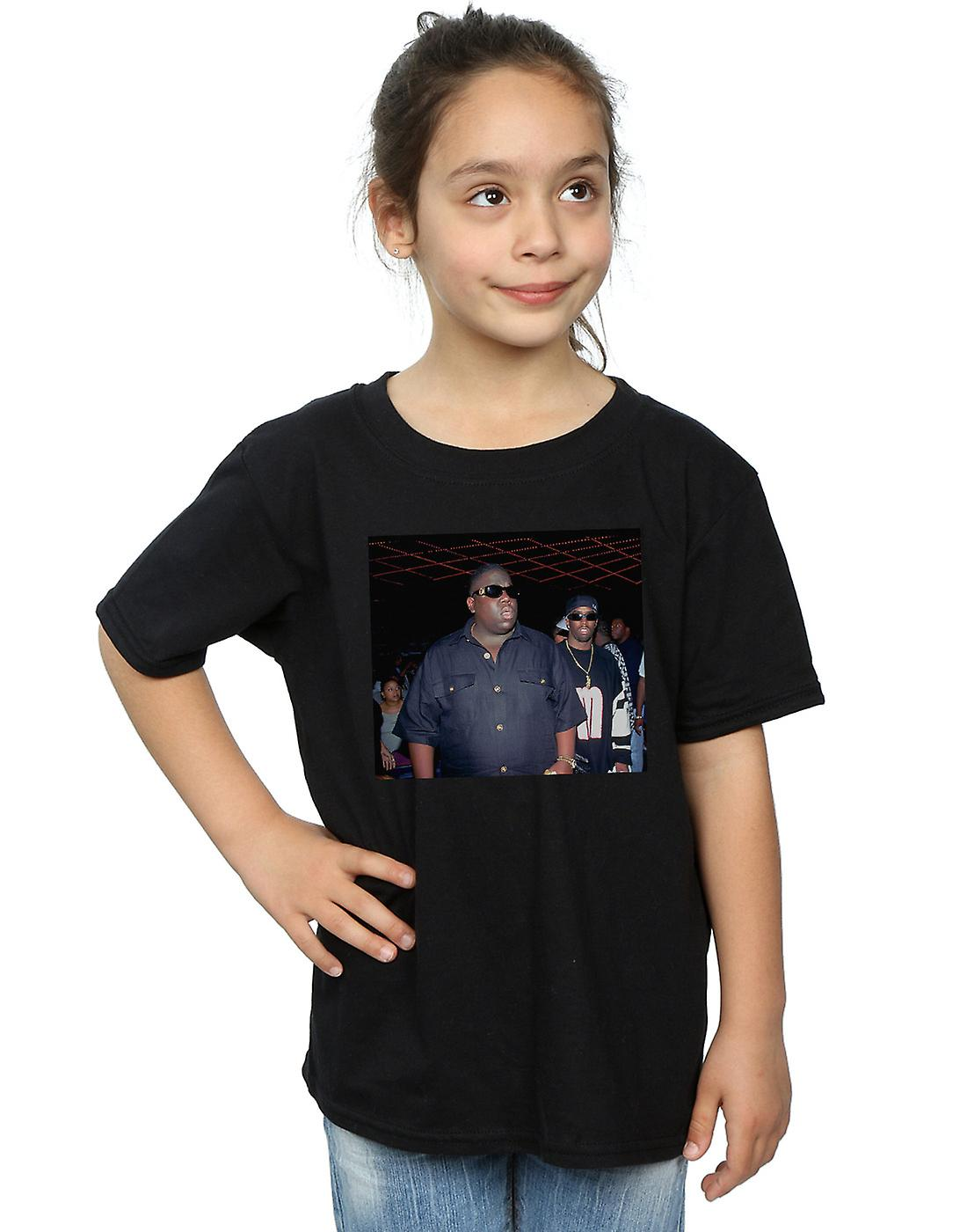 Notorious BIG Girls Big And Puff Photo T-Shirt