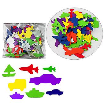 TRIXES EVA Foam Vehicle Transport Adhesive Stickers Scrapbooking Arts and Crafts Essential