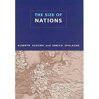 Størrelsen af nationer af Alberto Alesina - Enrico Spolaore - 9780262511