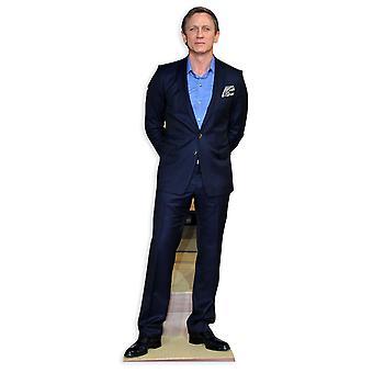 Daniel Craig Lifesize karton gestanst / Standee / Standup