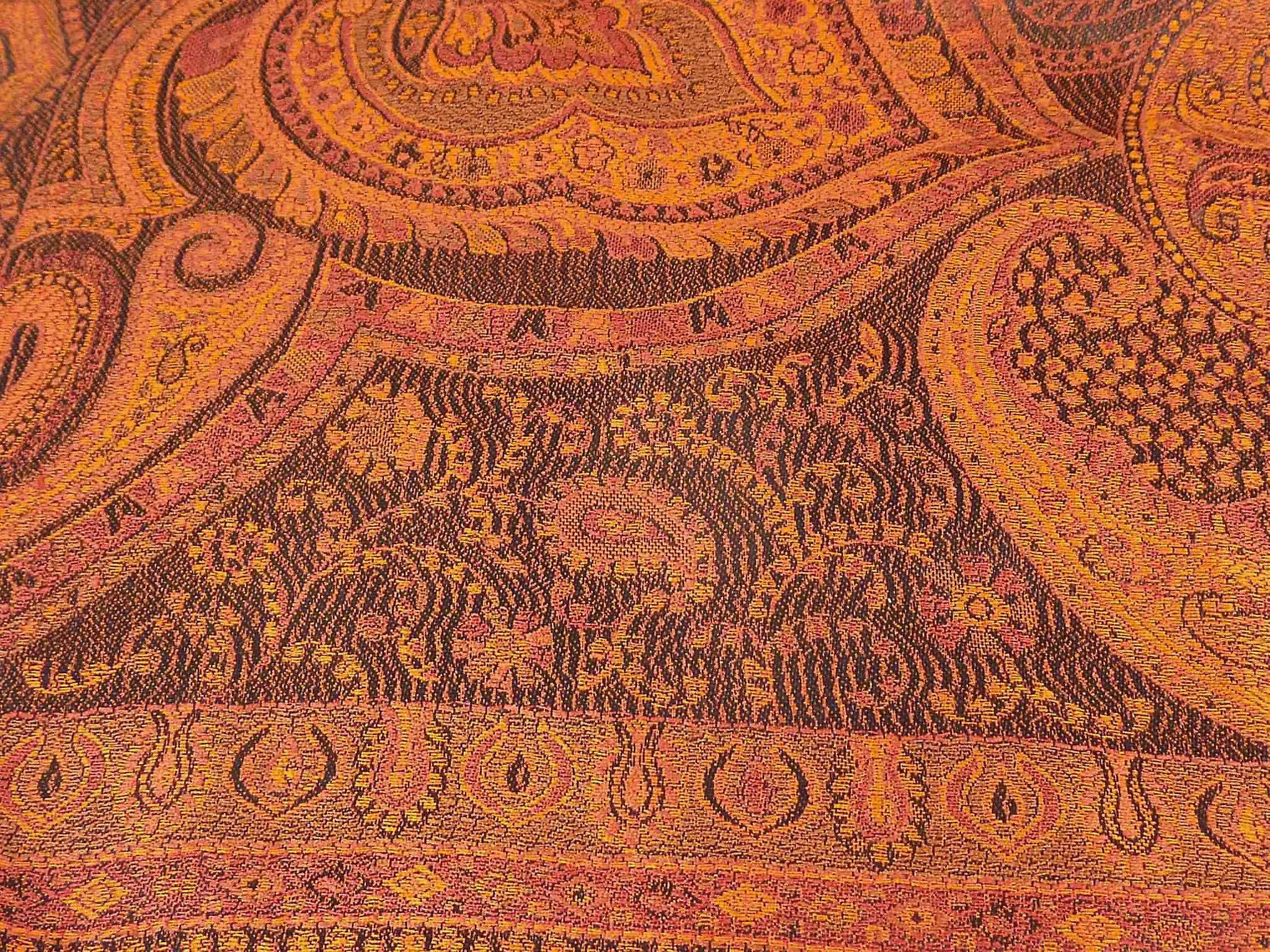 Jamawar Premium Silk Stole Pattern 2010 by Pashmina & Silk