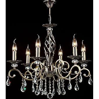 Maytoni Lighting Grace Royal Classic Chandelier, Bronze