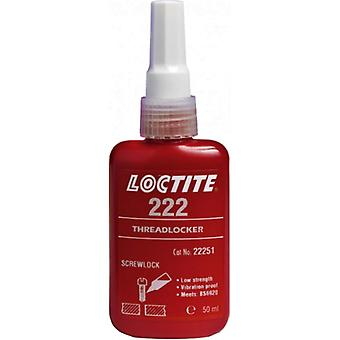 Loctite 222 Low Strength Threadlocker All Metal Adhesive Glue 50Ml 195743