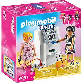 حياة المدينة Playmobil 9081 الصراف الآلي مع إليه وظيفية