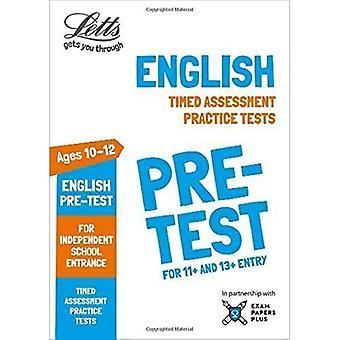 Letts commun entrée succès - le King anglais pré-test pratique des Tests: Tests de pratique de chronométré (Common Letts entrée succès)
