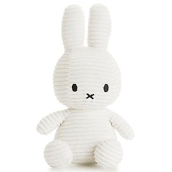Miffy Bunny Corduroy Soft Toy, White