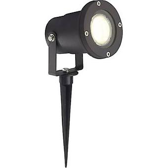 Brilliant G96232/06 Janko Garden spotlight LED (monochrome) GU10 3 W Black