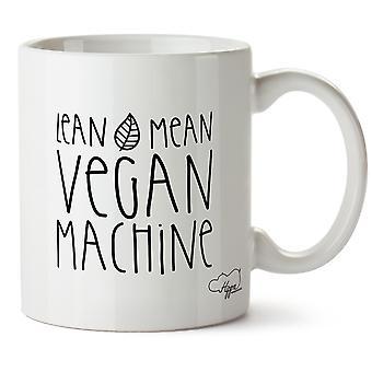 Hippowarehouse худой средняя Vegan машина напечатаны Кубка керамическая кружка 10oz