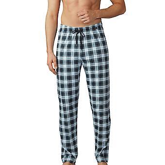 Mey miesten 18960-188 miesten Lounge Ciel harmaa ruudullinen Pyjama Pant