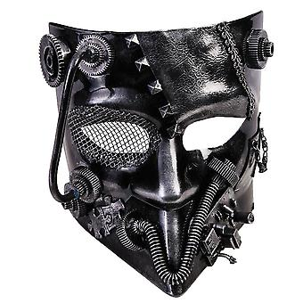 Steampunk Silver Mask For Adults