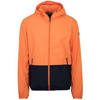 Colmar Orange & Navy Waterproof Jacket
