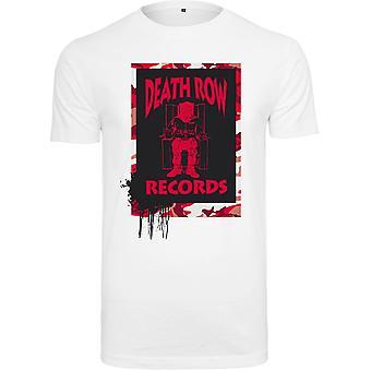 Merchcode shirt - death row records Camo white