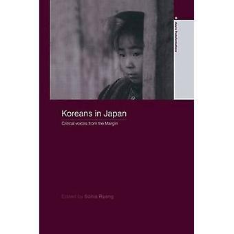 Coréens au Japon des voix critiques de la marge de Ryang & Sonia