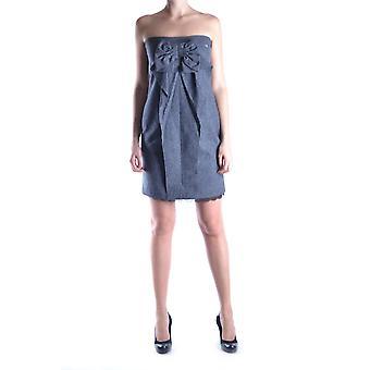 Liu Jo Ezbc086001 Women's Grey Cotton Dress