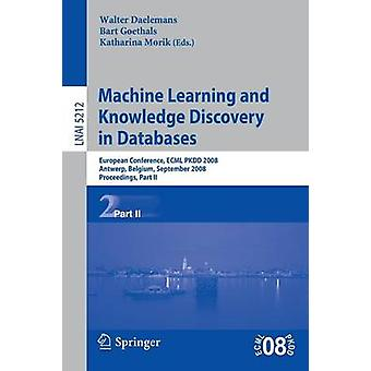 Machine Learning e Knowledge Discovery in Databases di Daelemans & Walter