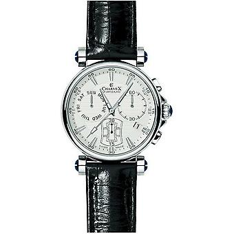 Charmex mens Bracelet Watch fith Avenue chronograph 2580