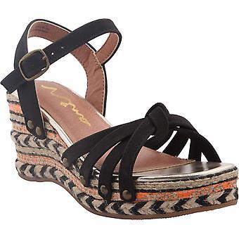 Nina Womens Oleda Open Toe Casual Platform Sandals