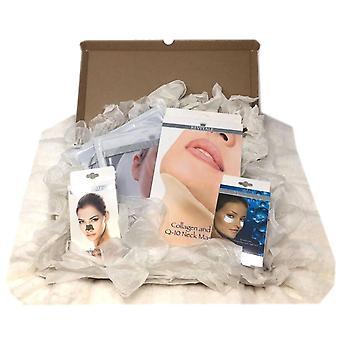 Revitale Beauty Spa ' arata bine ' hamper set de cadouri-colagen, curețe, hidrat