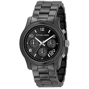 Michael Kors mannen zwarte keramische armband horloge Mk5162