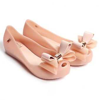 Melissa Shoes  Kids Ultragirl Triple Bow 17 Pumps, Blush