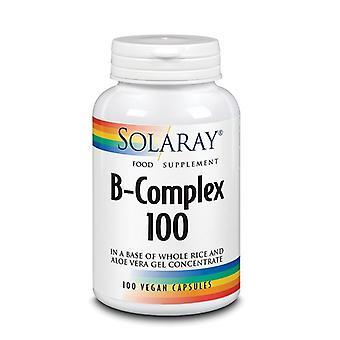Solaray B-100 Complex Vegan Capsules 100 (24104)