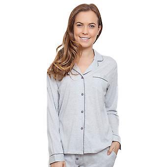 Cyberjammies 3808 vrouw Erica grijs Pajama pyjama's Top