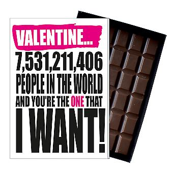 Valentine?s Day Gift For Boyfriend Girlfriend Funny silly Present Chocolate Card IYF143