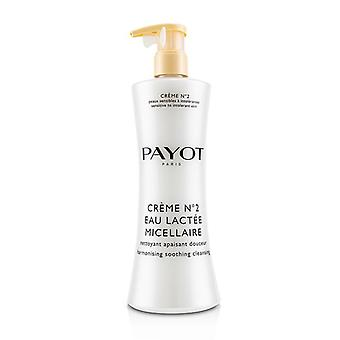 Payot Creme N°2 Eau Lactee Micellaire Harmonising Soothing Cleansing - 400ml/13.5oz