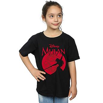 Disney Girls Mulan Dragon Silhouette T-Shirt