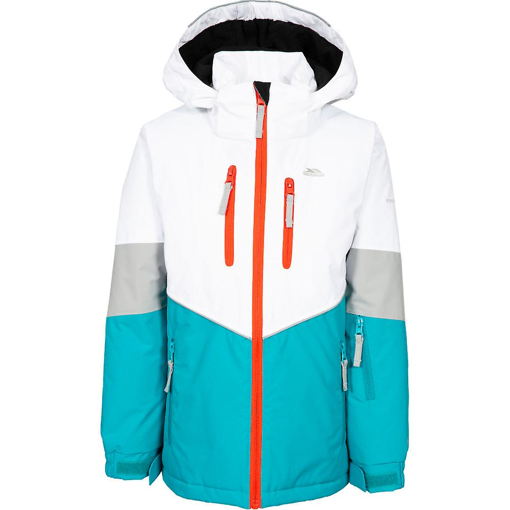 Trespass Girls Olivvia Padded Hooded Adjustable Ski Coat