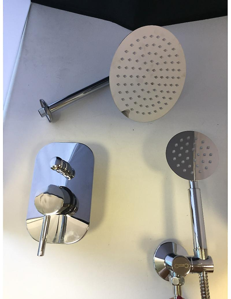 Shower Kit Shower With Arm and Mixer Receipt With Shower Diverter And Water Outlet
