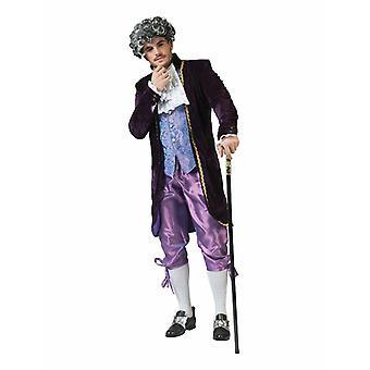 Lord Count mäns kostym Marquis Baron barock mäns kostym