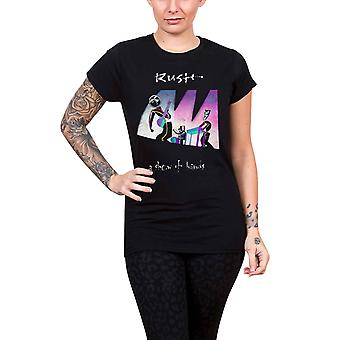 Rush T Shirt Show Of Hands new Official Womens Skinny Fit Scoop Neck Black