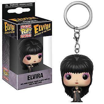 Elvira Pocket Pop! Keychain