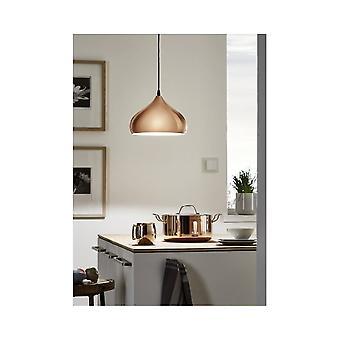 Eglo atemberaubende Kupfer Küche Decke Drop Licht Anhänger