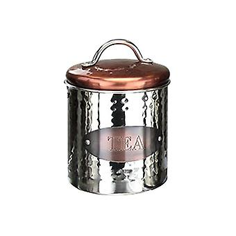 Apollo Copper Tea Canister