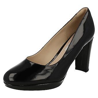 Damer Clarks høje hæle mode sko Kendra Sienna