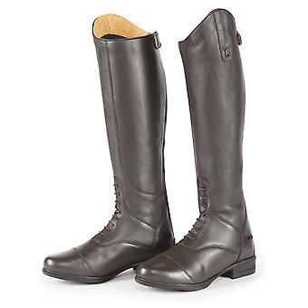 Shires Moretta Gianna Adults Leather Riding Boots - Brown