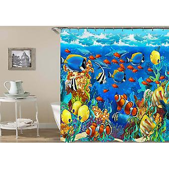 Overbooked Reef Shower Curtain