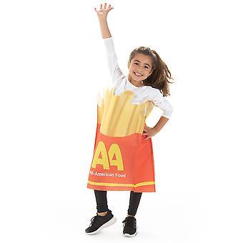 Franceză cartofi prăjiți copii ' s costum, 10-12