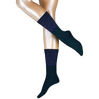 Esprit Roughly Knit Socks - Fire Tree Green