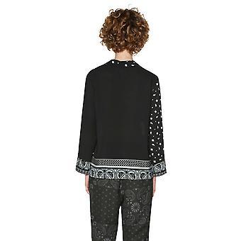 Desigual Women's Black Capanema Pyjama Inspired  Shirt