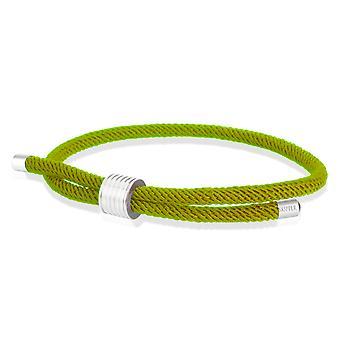 Skipper Bracelet Surfer Band Maritime Bracelet Nylon avec fermeture de tirage Vert 8458